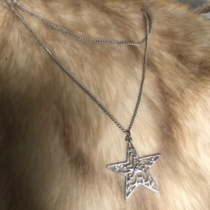 Star and Chain Necklace